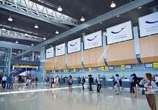 Ну вот тебе фотка с харьковского аэропорта.  Шо, хочешь сказать там нет чистоты и благоустройства.