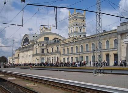 Курский вокзал прибытие поезда из харькова в москву утром