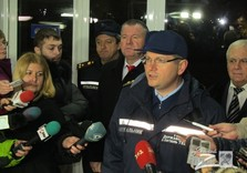 Вилкул в Харькове после пожара на Хартроне