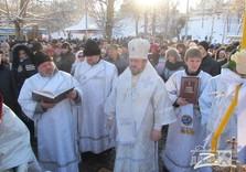 Крещение Саржин яр владыка Онуфрий
