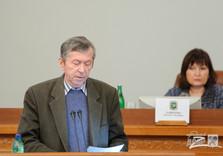 на сессии Харьковского областного совета депутаты приняли заявление относительно политической ситуации в стране