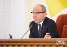 мер города Харькова на сессии городского совета
