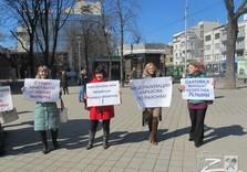 Харьковчане обстебали крымский референдум