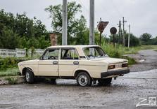 на подъезде к Николаевке