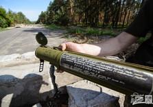 оружие, которое оставили боевики