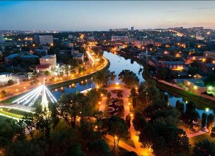 сквер стрелка Харьков
