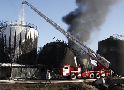 Нанефтебазе «БРСМ-Нефть» в10:15 произошел очередной взрыв