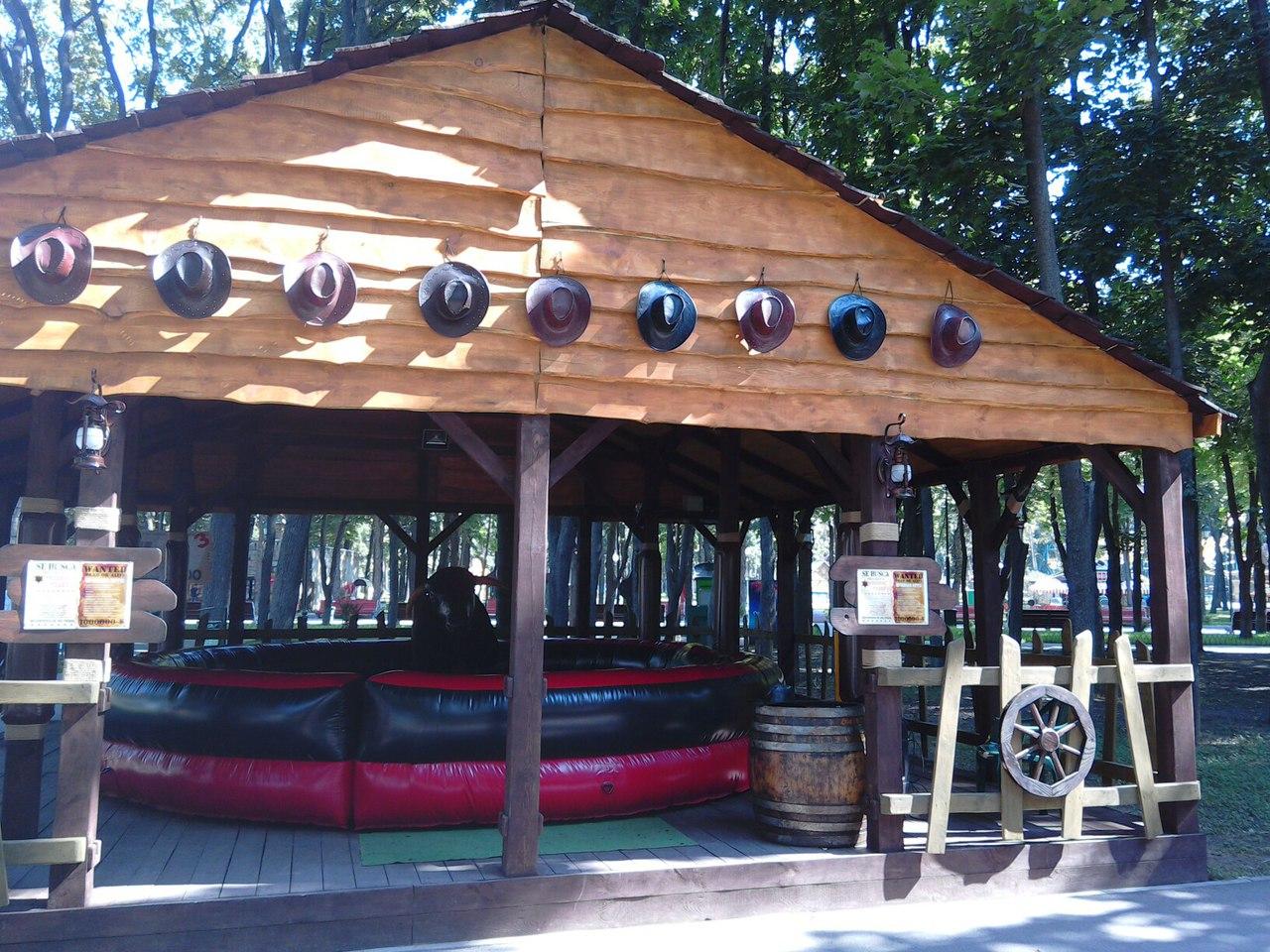 билет на атракционы в парке горького: