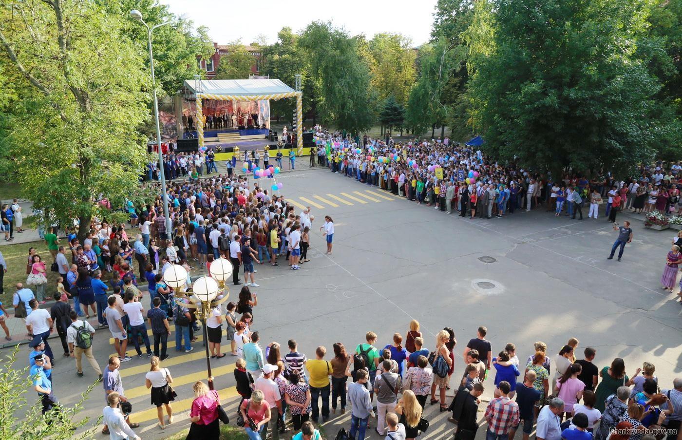 Харьковский Политех открыл двери перед первокурсниками