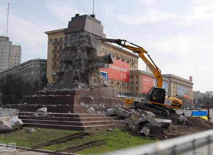 Вмэрии определились, что будет сместом, где стоял монумент Ленину