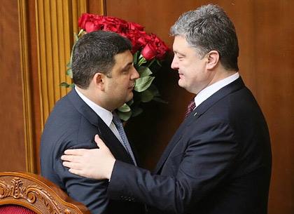 УГройсмана сообщили опрогрессе впереговорах поновому Кабмину