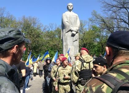 Утренние события наМемориале славы вХарькове расследуются постатье «хулиганство»— милиция