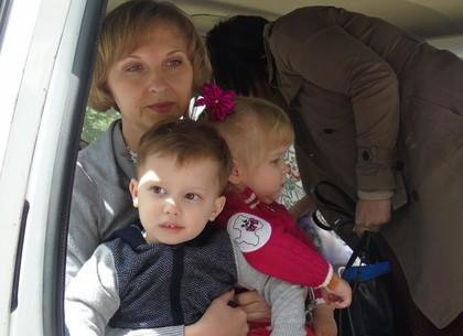 Дети издетдомов, эвакуированные вХарьков, возвратятся  вЛуганскую область
