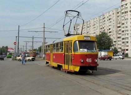 ВХарькове трамваи пяти маршрутов невышли налинии