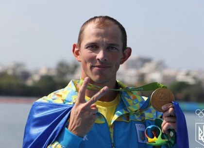 Олимпиада 2016 вРио: Украинский каноист Юрий Чебан одержал победу золотую медаль