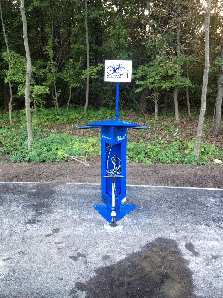 СТО для велосипедистов появилось в Лесопарке