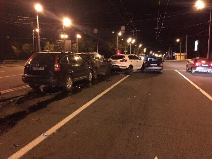ДТП на Сокольниках: в аварию попал пьяный водитель