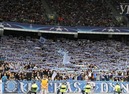 Динамо дома проигрывает итальянскому Наполи— Лига Чемпионов
