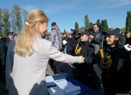 Аваков поздравил курсантов полицейской академии спринятием присяги