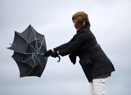 ГСЧС предупредила ошквальном ветре до20 м/с повсей Украине