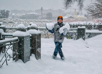 Рекордное количество снега зафиксировано в Харькове - Цензор.НЕТ 2217