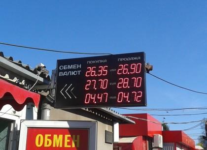 Харьков курс валют в обменных пунктах сегодня