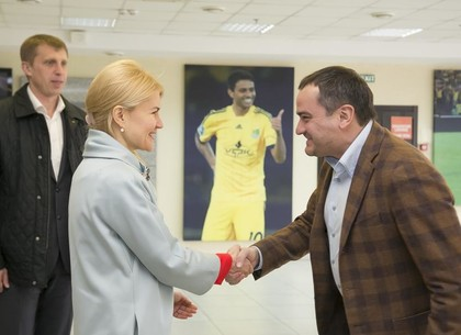 «Металлист»: Президент ФФУ пообещал проконтролировать дело скандального матча «Олимпик»