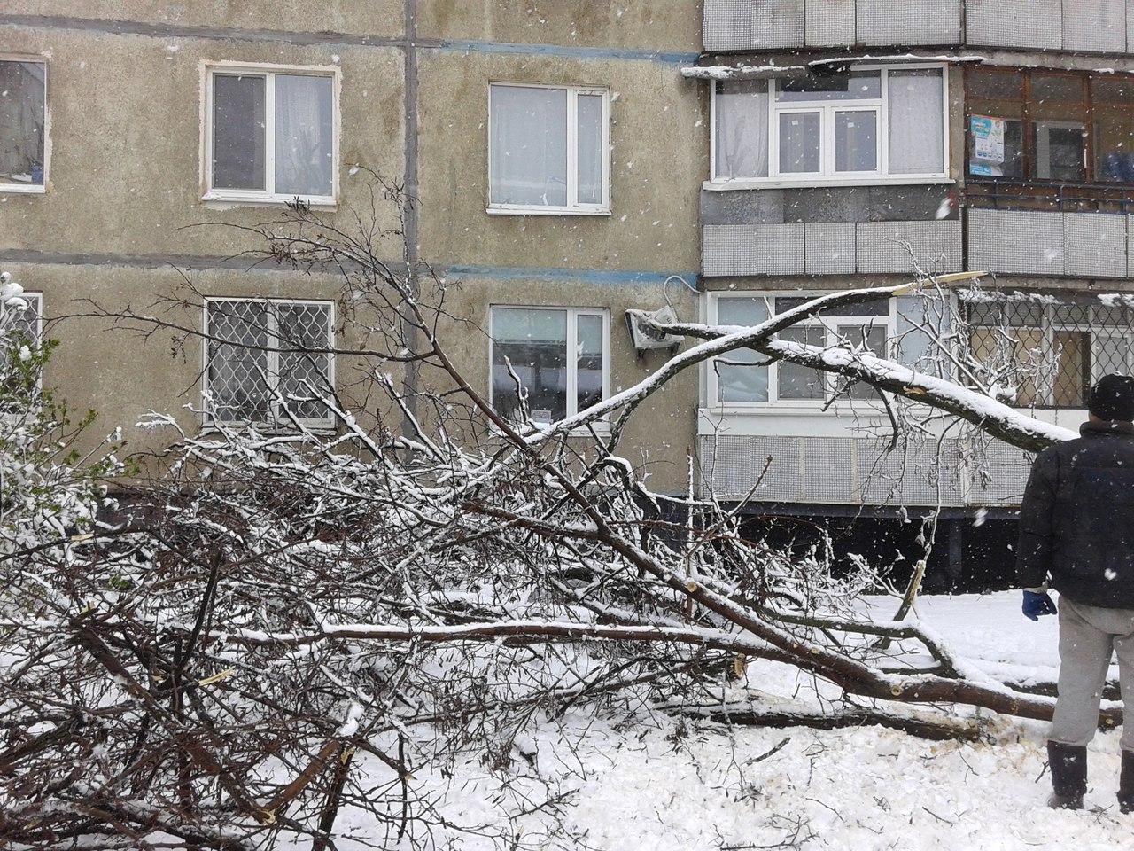 ВХарькове стихия обесточила детские сады ишколы