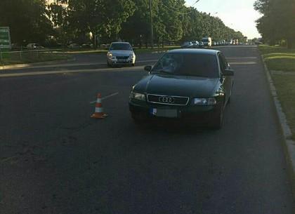 ДТП: Audi сбила пешехода (ФОТО)