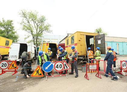 Отключение воды на сутки в центре Харькова перенесено