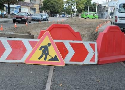 На улице Гольдберговской закрывается еще один участок дороги
