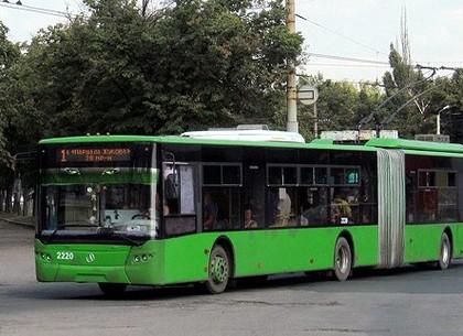 Троллейбус №1 изменит маршрут