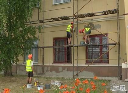 В Харькове масштабно ремонтируют школы