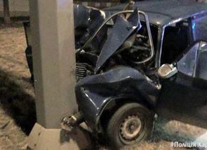 В Харькове пассажир «Жигулей» погиб в аварии