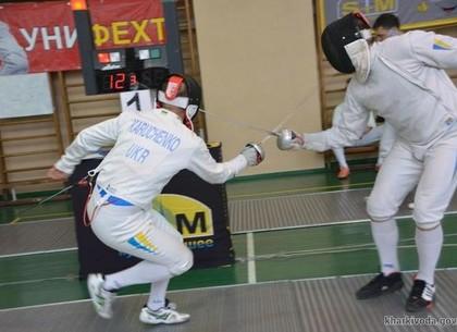Харьковчане выиграли чемпионат Украины по фехтованию