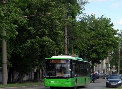 Троллейбус №13 изменит маршрут