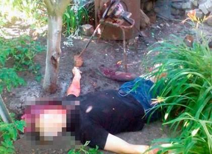 ВХарькове мужчина совершил кошмарный суицид «болгаркой»
