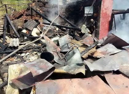 Под Чугуевом спасатели совместно с военными ликвидировали крупный пожар