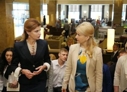 Марина Порошенко: Женщины у власти обеспечат мирное решение проблемных вопросов