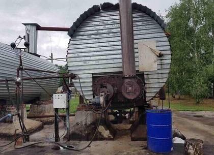 Под Харьковом под видом переработки отходов подпольное производили бензин