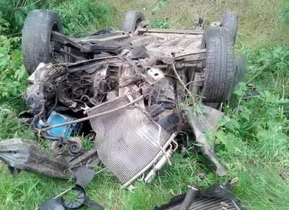 Жуткое ДТП под Чугуевом: водитель погиб на месте