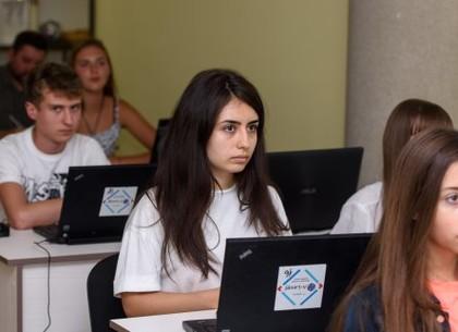 Харьковские школьники презентовали первые работы в рамках IT-проекта