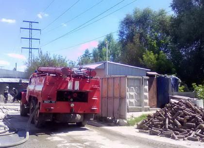 В Харькове горят частные склады: есть пострадавшие