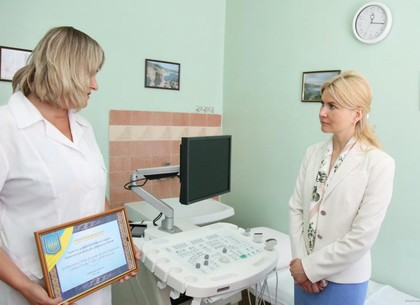 В Боровской районной больнице появился современный аппарат УЗИ