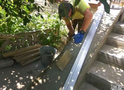 Харьковские коммунальщики восстанавливают проблемные объекты