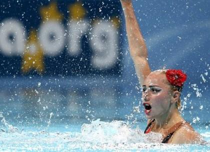 Харьковчанка завоевала третью медаль чемпионата мира по синхронному плаванью