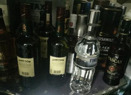 Харьковская бизнес-вумен решила заработать на контрабандном алкоголе