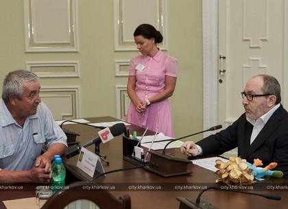 Геннадий Кернес провел личный прием харьковчан