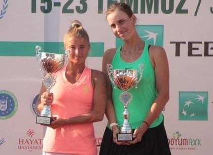 Харьковские теннисисты победили на соревнованиях в Турции
