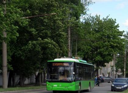Троллейбус №13 на два дня изменит маршрут